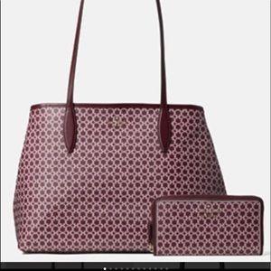 Kate Spade link Shoulder Bag and Wallet Set